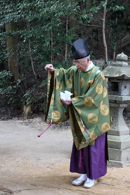 八坂神社 おんだ祭・綱かけ祭1