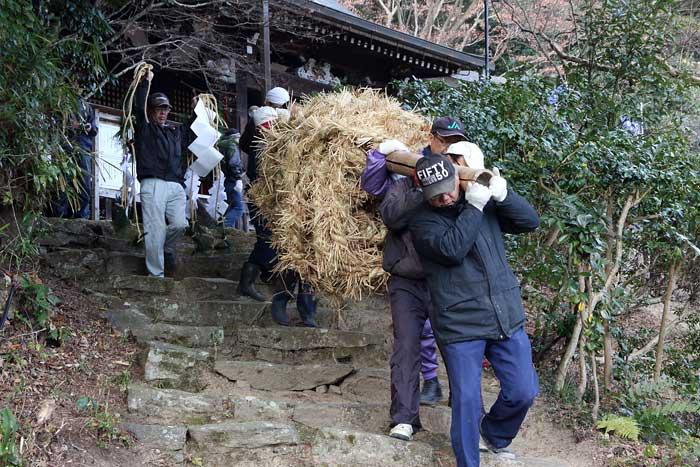 八坂神社 おんだ祭・綱かけ祭6