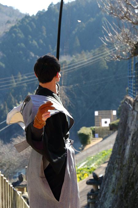 桃香野八幡神社 弓始祭4