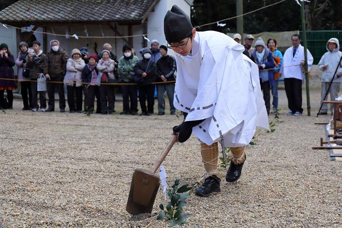 大和神社 御田植祭2