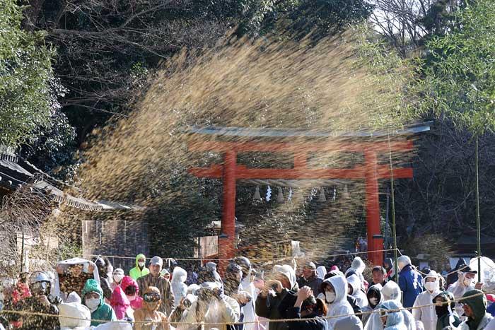 廣瀬神社 砂かけ祭3