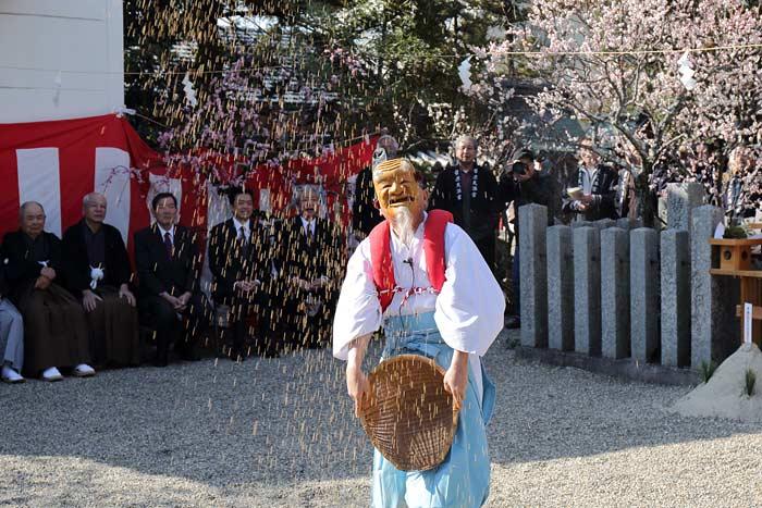 菅原天満宮 おんだ祭3