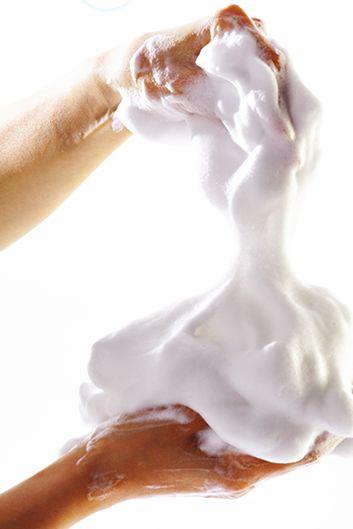 ケーキ石鹸泡
