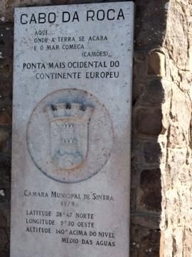 ポルトガル194ロカ岬