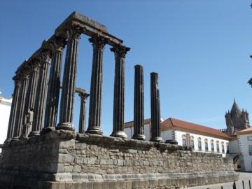 ポルトガル237ディアナ神殿