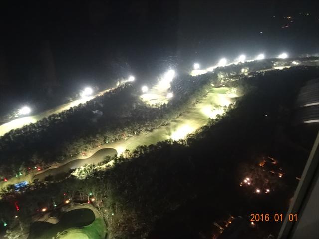 ゴルフ場(ライトアップ)