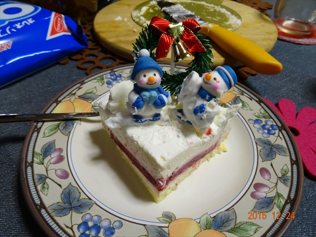 クリスマスケーキ 1