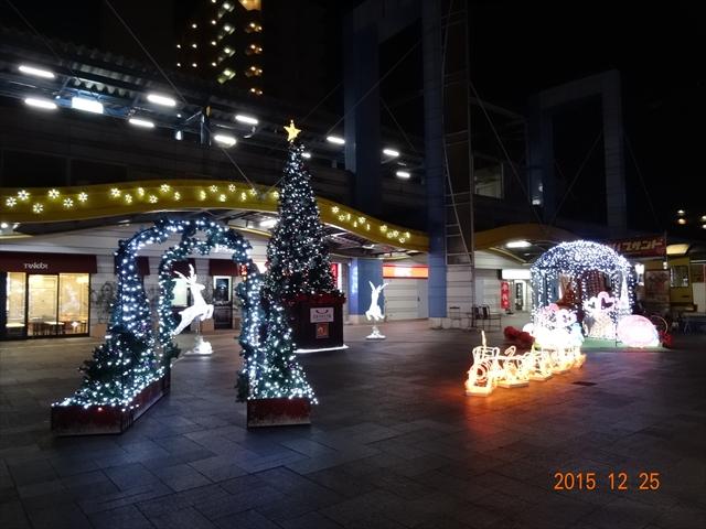 駅前イルミネーション