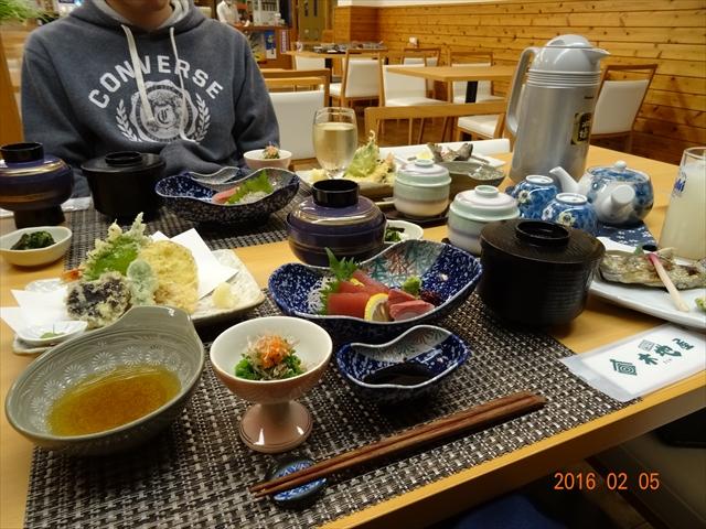 晩飯(旅館)