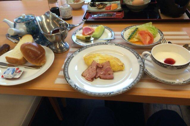 旅館 朝食