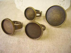 台座付指輪:15~16mm、22mm