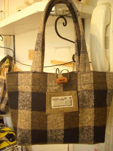 2015 11 ウールのトートバッグ