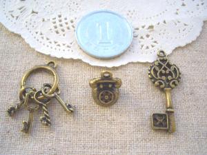 鍵四連、テレフォン、王冠キー
