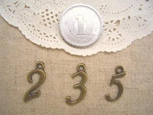数字(2、3、5)