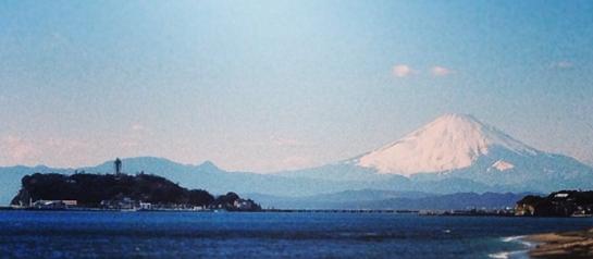 IMG_1604江の島と富士山