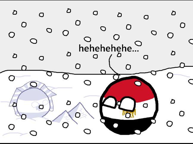 エジプトに雪が降ったよ (4)