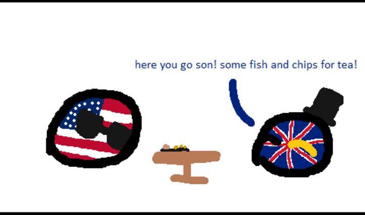 アメリカがちょっとお茶するよ (3)