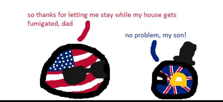 アメリカがちょっとお茶するよ (1)