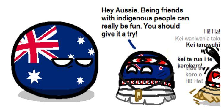 先住民達と交流しよう (3)