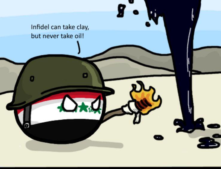 イラクの排気ガス作戦 (1)
