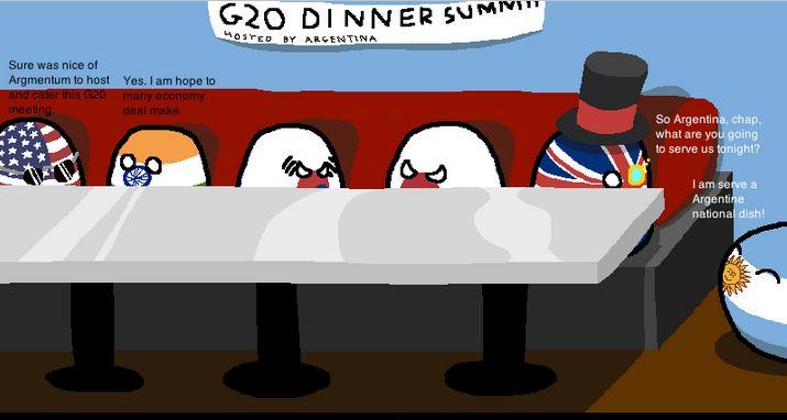 G20の夕食会 (1)