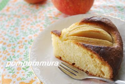 りんごのお花ケーキ3