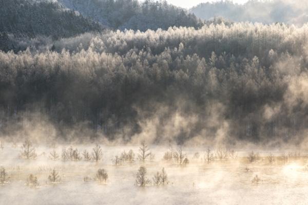 樹氷夕張シューパロ湖
