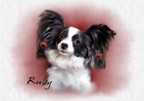 ルビー肖像画2