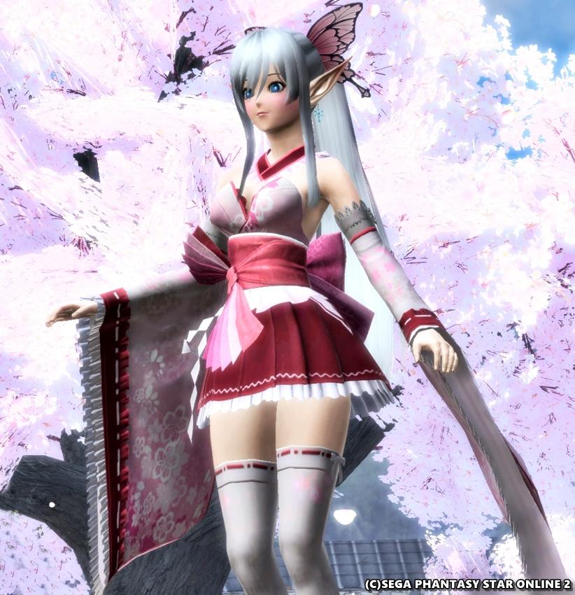 きゃわいい和服! キリカ・レプカ桜花