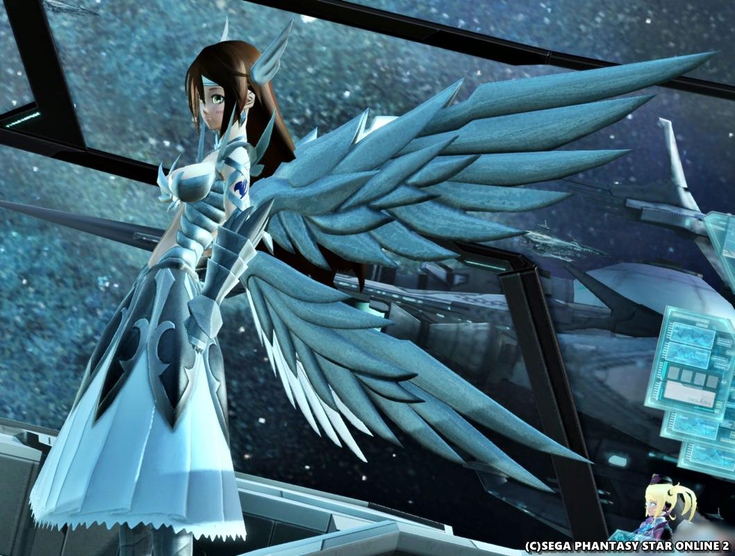 天輪の鎧・上翼、下翼をスタイリッシュに修正!2