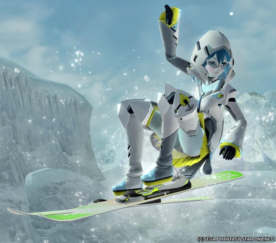 アクエリアスタイルスピードスキーヤー!2