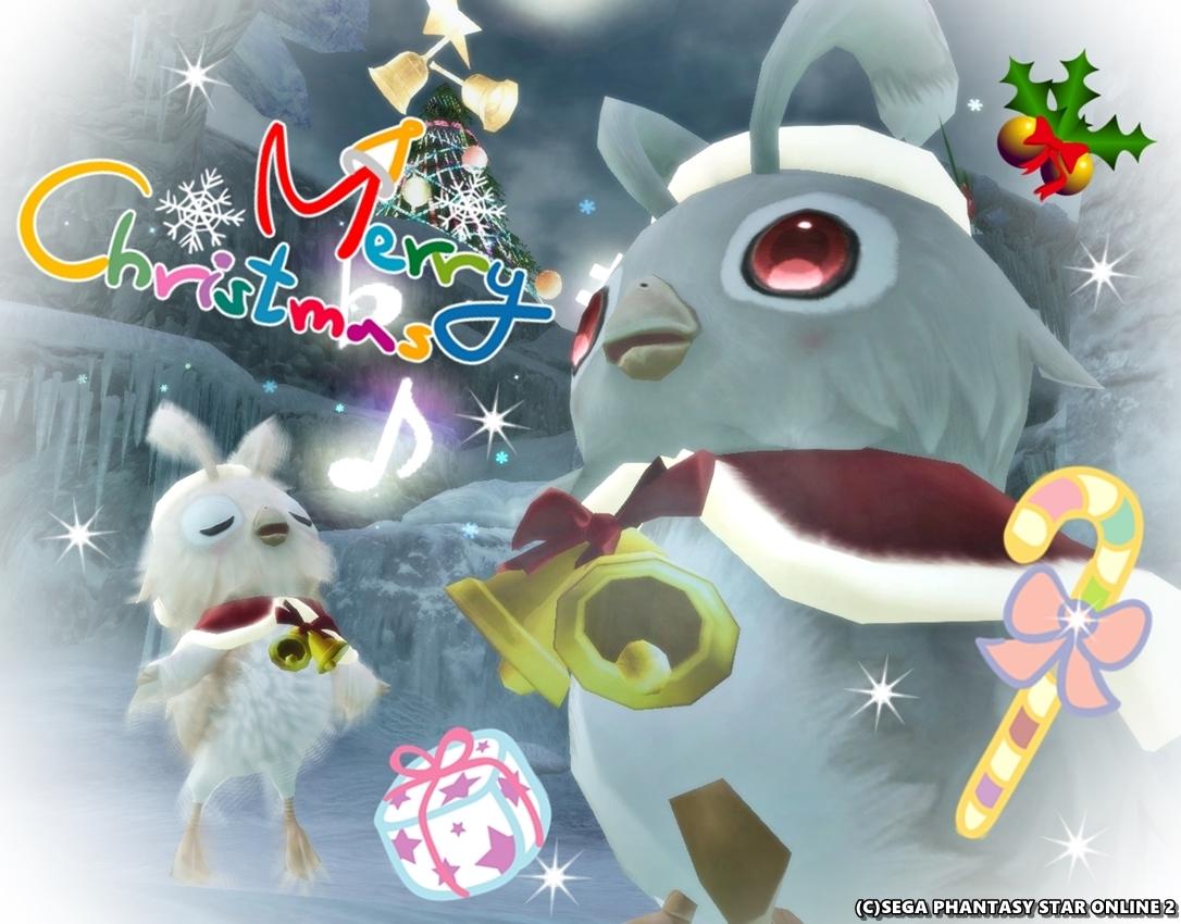 PSO2のクリスマスは今日が本番っきゅう!