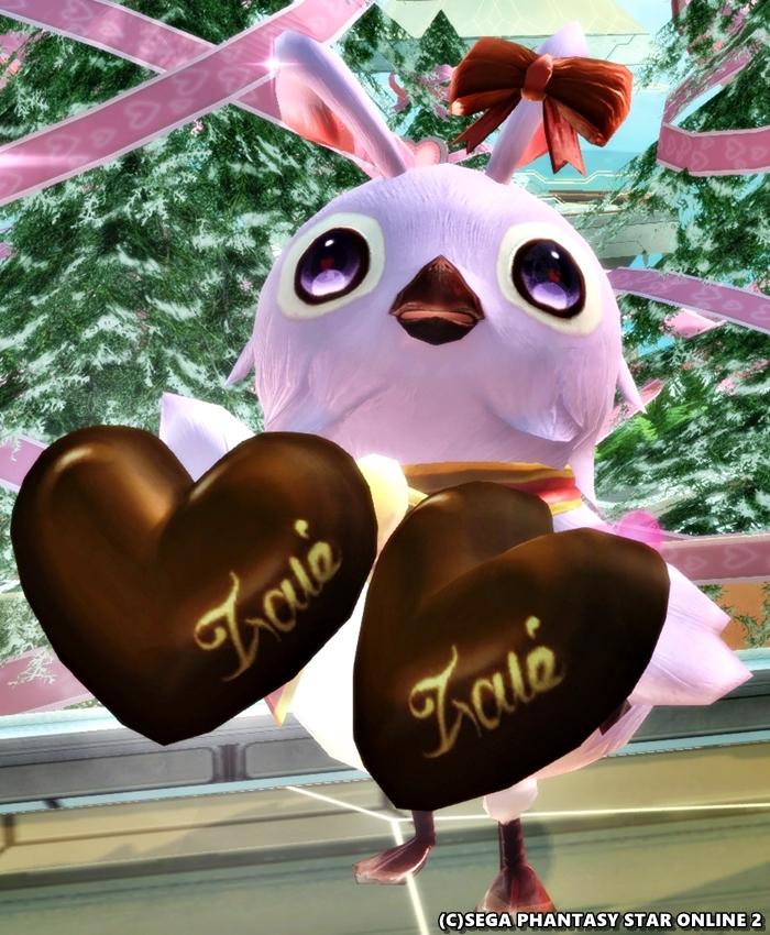 明日はバレンタイン!みんなチョコは用意出来たっきゅ?