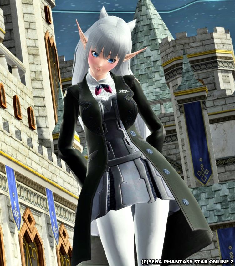 某魔法学校的な制服