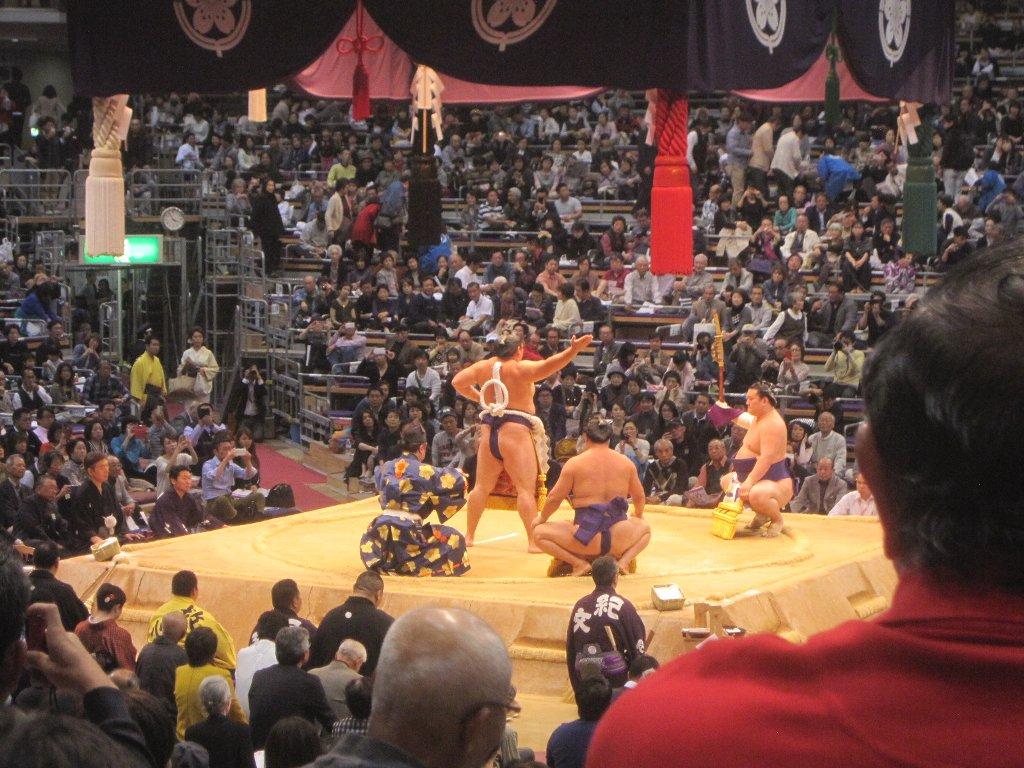 大相撲平成27年11月場所横綱土俵入り