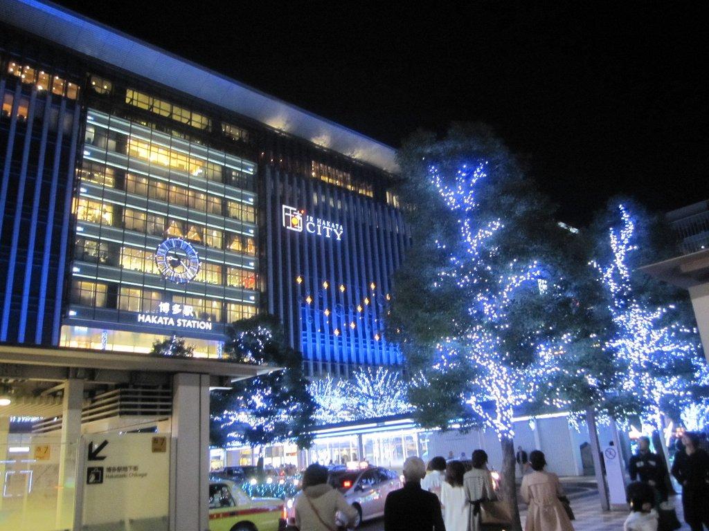 博多駅イルミネーション全景