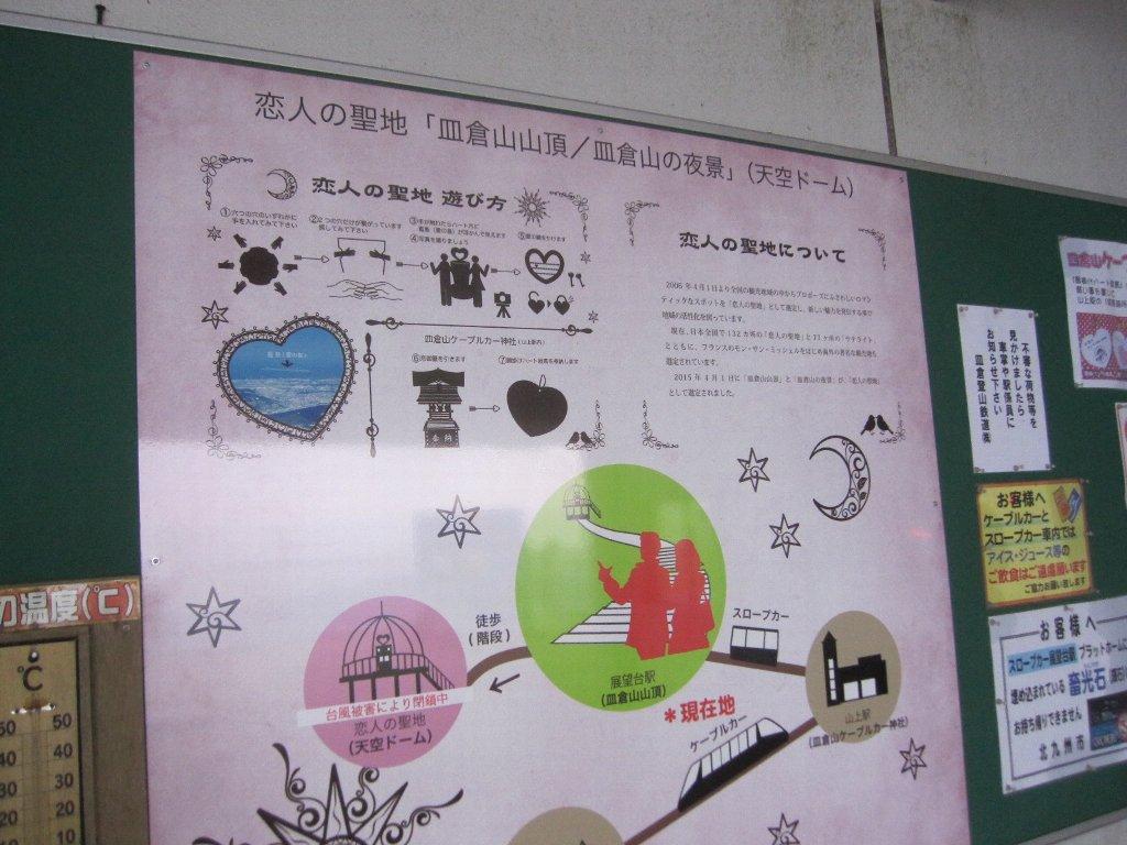 皿倉山恋人の聖地説明