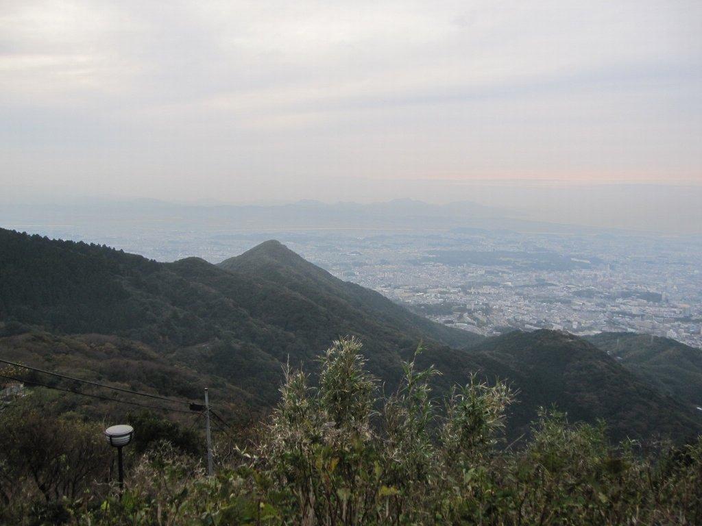 皿倉山宗像方面景色