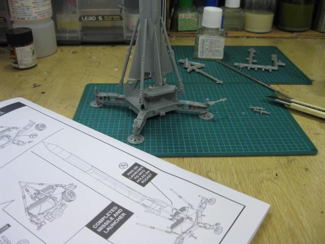 コーポラル ミサイルw/トランスポーター の3