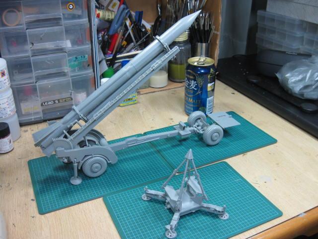コーポラル ミサイルw/トランスポーター の4