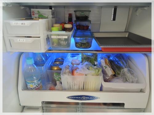 冷蔵庫下段