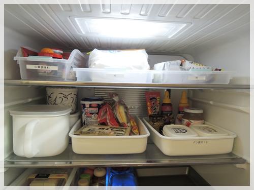 冷蔵庫上段