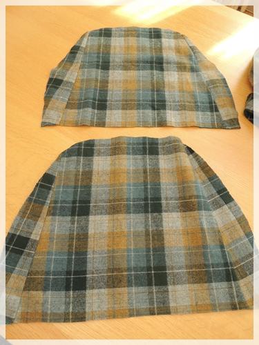 スカート布で
