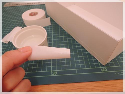 水貼りテープで