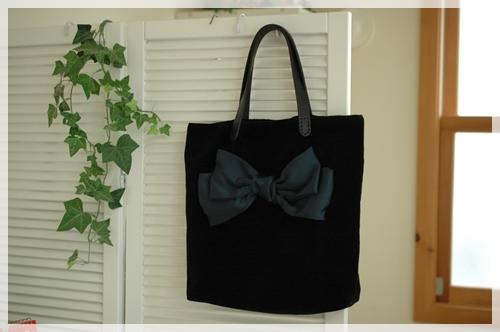 ベロアのバッグ2