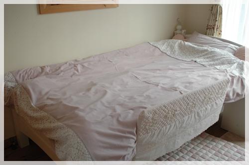 フランフランのベッドカバー