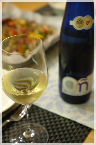白ワインで