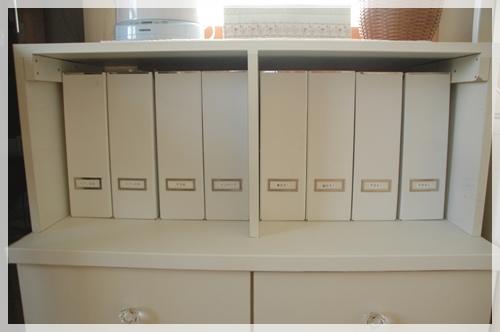 IKEAのファイルボックス