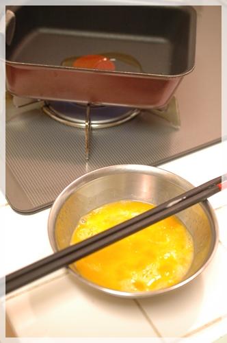 卵焼きを作る