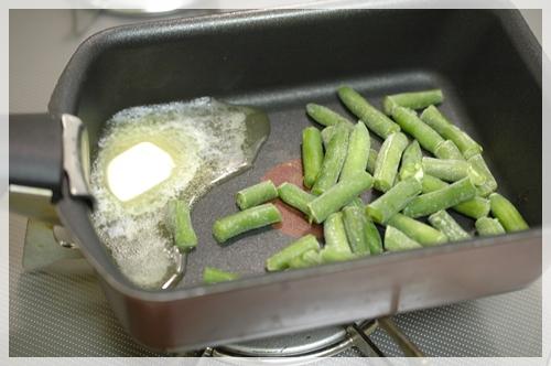 冷凍インゲン